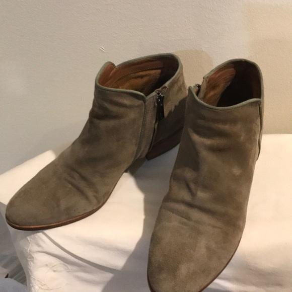 Sam Edelman Shoes - Sam Edelman Grey suede Booties